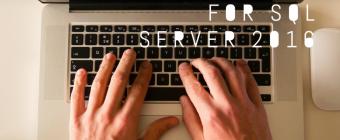 Configuring TempDB for SQL Server 2016